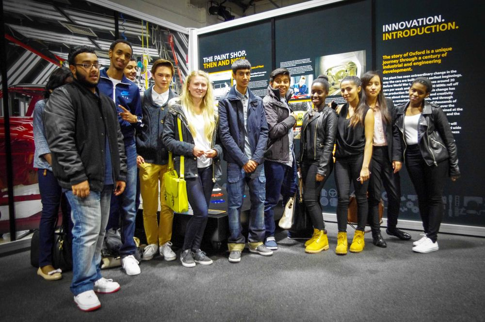 A Level Business Trip to BMW Mini Factory 11.07.14.1