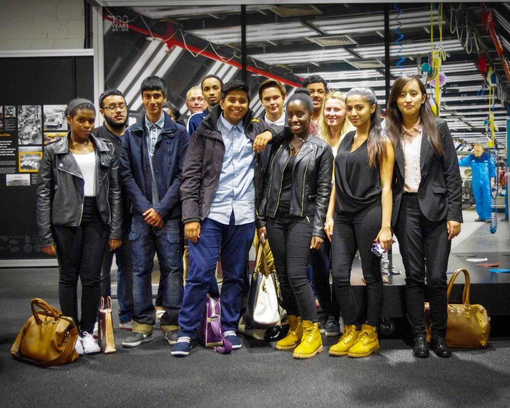 A Level Business Trip to BMW Mini Factory 11.07.14.2